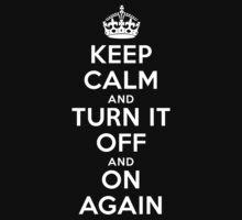 Keep Calm One Piece - Short Sleeve