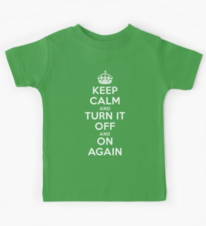 Keep Calm Kids Tee