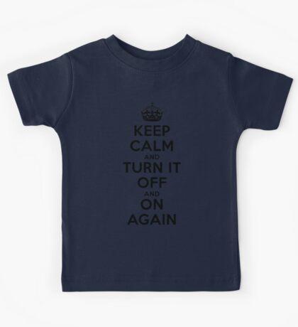 Keep Calm Kids Tee