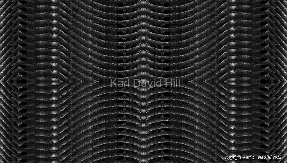 That way madness lies 004 by Karl David Hill