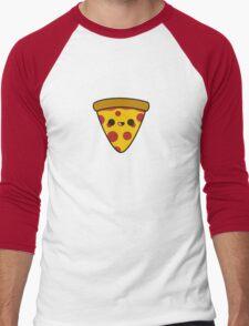 Yummy pizza Men's Baseball ¾ T-Shirt