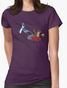 Regular Show Coffee Womens Fitted T-Shirt