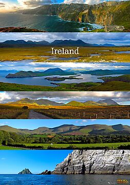 panoramic Ireland by Andrés Hurtado