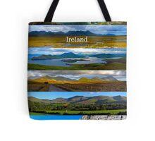 panoramic Ireland Tote Bag