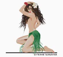 Hula Girl by Frank Schuster