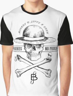 One Piece No Marines No Problem Graphic T-Shirt