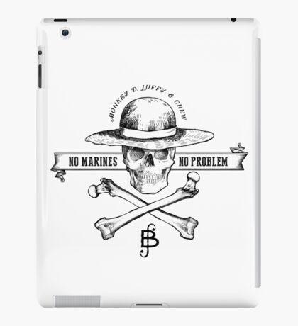 One Piece No Marines No Problem iPad Case/Skin