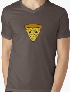 Yummy spicy pizza Mens V-Neck T-Shirt