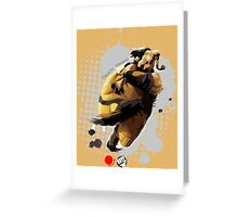 Galactic Tornado Greeting Card