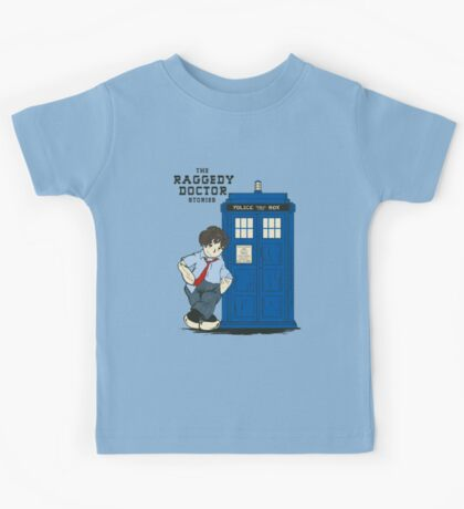 The Raggedy Doctor Stories Kids Tee