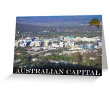 Australian Capital Greeting Card