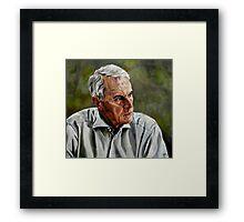 An Interesting Man - Viktor Hesse Framed Print