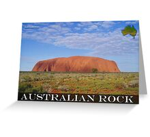 Australian Rock Greeting Card
