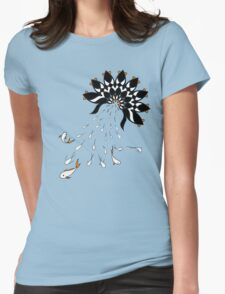 Penguin Flowers T-Shirt