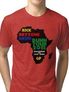 dUNn Tour 2012 Tri-blend T-Shirt