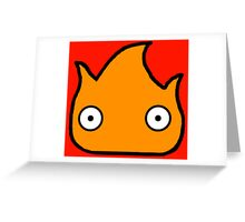 Calcifer Greeting Card
