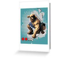 Orochi Breaker Greeting Card