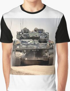 British Army Warrior Infantry Fighting Vehicle Graphic T-Shirt