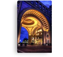 Boston Hotel Canvas Print