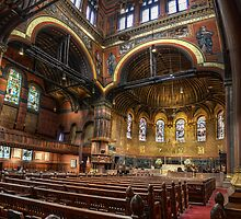 Trinity Church Interior by jswolfphoto