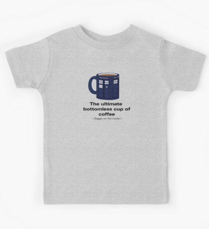 Ultimate Bottomless Cup - Sticker Kids Tee