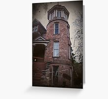 Nolon House, Manitou Springs CO Greeting Card