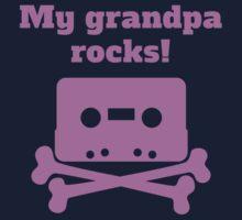 My Grandpa Rocks One Piece - Long Sleeve