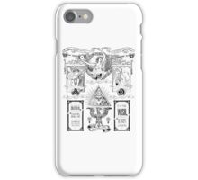 The Three Goddesses of Hyrule Geek Line Artly iPhone Case/Skin