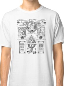 The Three Goddesses of Hyrule Geek Line Artly Classic T-Shirt