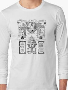 The Three Goddesses of Hyrule Geek Line Artly Long Sleeve T-Shirt