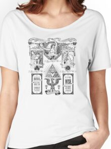 The Three Goddesses of Hyrule Geek Line Artly Women's Relaxed Fit T-Shirt