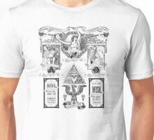 The Three Goddesses of Hyrule Geek Line Artly Unisex T-Shirt
