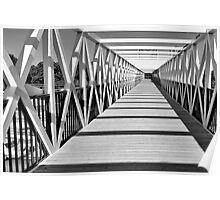 Pedestrian Bridge Poster