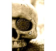 Clockwork Skull Photographic Print
