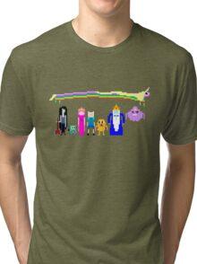 8 BIT ADVENTURE Tri-blend T-Shirt