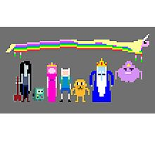 8 BIT ADVENTURE Photographic Print
