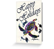 Letter to a Hatchling Happy Holidays  Greeting Card