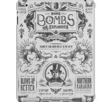 Legend of Zelda Barnes Bombs Vintage Ad iPad Case/Skin