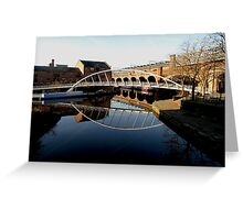 11.	Bridgewater canal and the Cheshire Ring walk Greeting Card