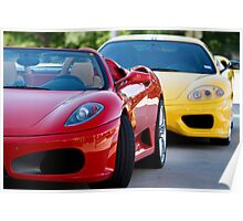 Ferrari Times 2 Poster