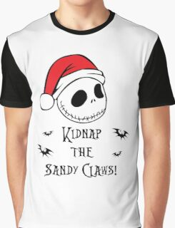 Nightmare Before Christmas - Sandy Claws Graphic T-Shirt