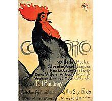 Théophile Alexandre Steinlen Cocorico Google Art Project Photographic Print