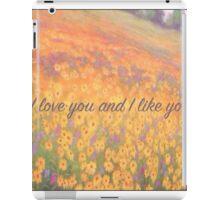 Wildflower Mural iPad Case/Skin