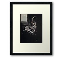 Empty Pages Framed Print
