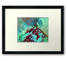 Icelandic Volcano Framed Print