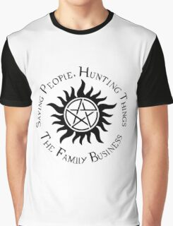 Supernatural Family Business Graphic T-Shirt