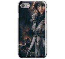 Lightning from Final Fantasy 13 Painting iPhone Case/Skin