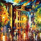 NIGHT ENIGMA - OIL PAINTING BY LEONID AFREMOV by Leonid  Afremov