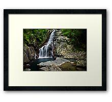 Hiji Falls Framed Print