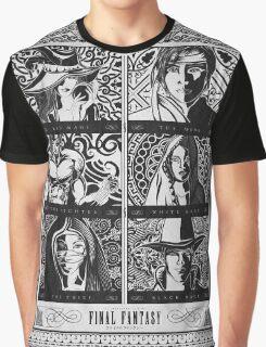 Final Fantasy Jobs Geek Art Poster Graphic T-Shirt